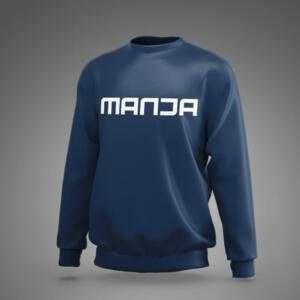 Navy Blue Manja Sweatshirt For Men's