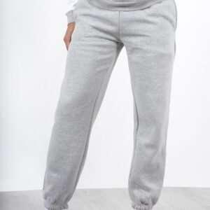 Grey Colour Regular Fit Joggers For Men