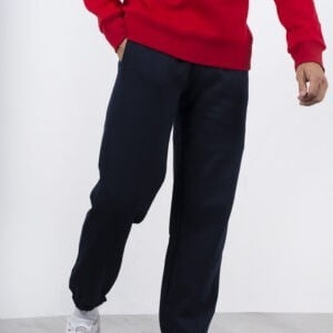 Navy Colour Regular Fit Joggers For Men