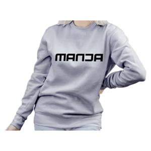 Grey Melange Fashion Sweatshirt For Women in BD