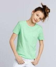 Light Green Short Sleeve T-Shirt For Kids