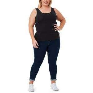 Black Colour Oversize Size Basic Tops For Women
