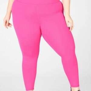 Pink Colour Ladies Stretchable Legging Pant