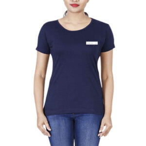 Short Sleeve Round Neck T-shirt For Girls in Bangladesh
