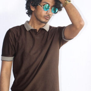 Chocolate Colour Men PK Polo T-Shirts