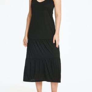 Black colour women Nightwear