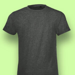 Export Quality 100% Cotton Charcoal Basic Baby T-shirt