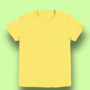 Light Yellow Round T-shirt For Baby Boy in BD