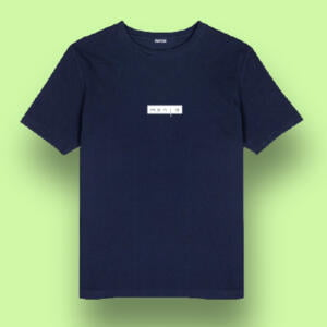 Navy Colour Half Sleeve Printed T-shirts in BD