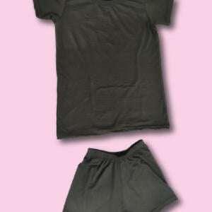 Best Black Colour Baby Set With Shorts Pant