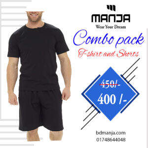 Black Colour Shorts Pant For Men's Best Price in BD