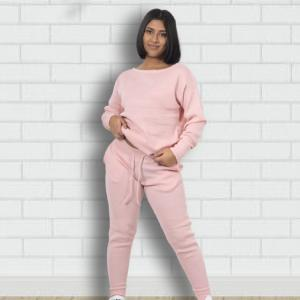 Light Pink Girls Cotton Tracksuits Bangladesh