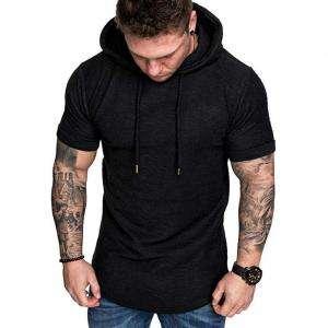 New Winter Season Sport Short Sleeve Fashion Hoodie For Men